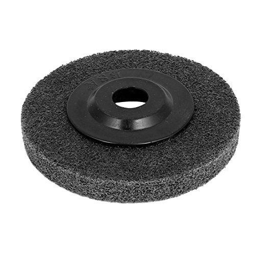 DealMux 100mmx16mmx12mm Nylon muela abrasiva de pulido Negro para amoladora angular