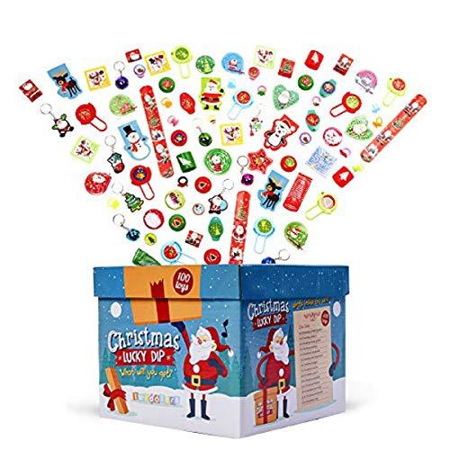 100 Piezas Juguetes de Fiesta de Navidad para Niños| Gran S