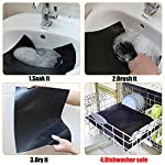 BACKTURE BBQ Grill Mat (5 pcs) 33x40 cm + 2 Brushes for Grilling and BBQ Non-Stick Grill Baking Mat Large Grill Foil… 10