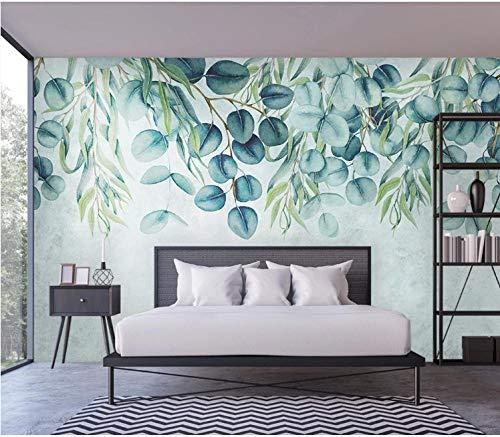 Hojas tropicales papel de pared mural dormitorio sala de estar hogar fondo pared 430×300cm