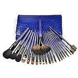 Kongqiabona-UK 22pcs pincel de maquillaje profesional en polvo colorete sombra de ojos maquillaje pinceles conjunto de herramientas cosméticas