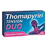 Thomapyrin TENSION DUO 400mg/100mg mit Coffein & Ibuprofen 18 stk