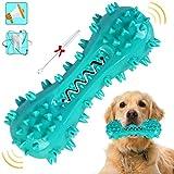 YHmall Juguetes Perro, Juguete para Masticar Cepillo de Dientes para Perros, Juguetes Chirriantes para Mascotas de Caucho Natural, Cuidado Bucal Dental para Perros