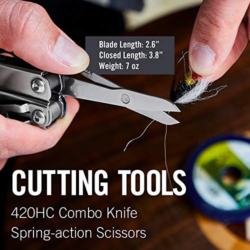LEATHERMAN, Wingman Multitool with Spring-Action Pliers and...