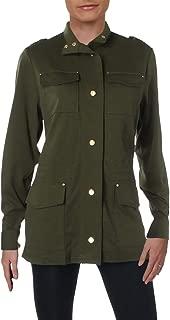 Ralph Lauren Lauren Women's Solid Military Jacket