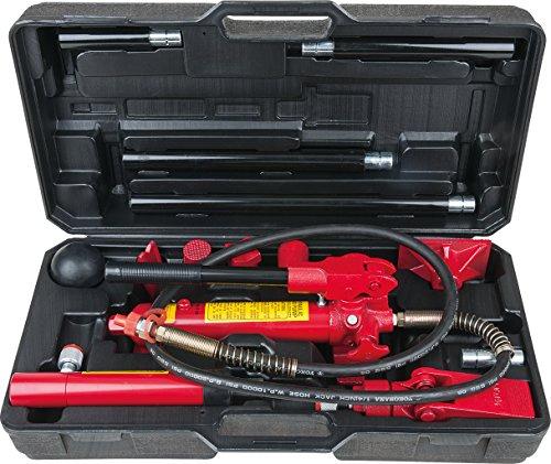 KS Tools 160.0445 Hydraulischer KFZ-Richtwerkzeugsatz, 4 teilig
