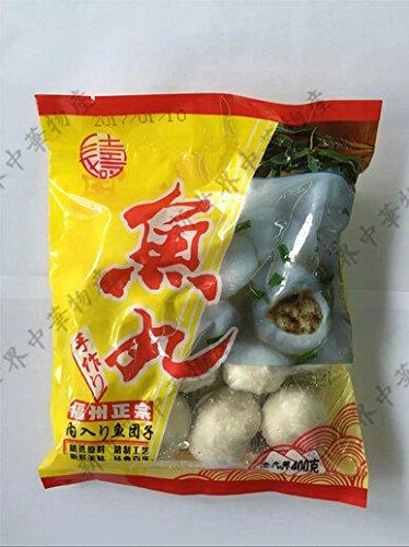 福州正宗鮮味魚丸(鮮魚肉だんご・魚団子)実店舗で大人気 冷凍のみの発送,クール便で1個口として+300円の冷凍料は加算されます