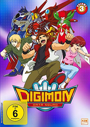 Digimon Data Squad, Vol. 3 [3 DVDs]