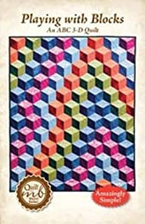 Playing with Blocks, An ABC 3-D Quilt Pattern
