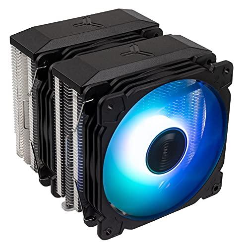 Jonsbo CR-2100 CPU Kühler Dual Tower, 2 x 120mm - Negro