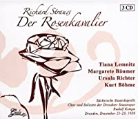 Der Rosenkavalier by Tiana Lemnitz (2008-03-27)