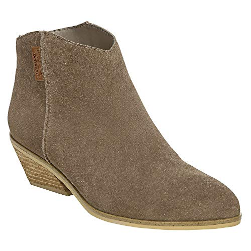 Price comparison product image Dr. Scholl's Womens Lucky One Casual Booties Shoes,  Grey;Taupe,  8.5