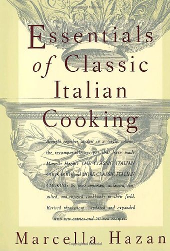 [By Marcella Hazan] Essentials of Classic Italian Cooking (Hardcover)【2018】by Marcella Hazan (Author) (Hardcover)