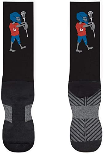 Lacrosse Zombie Printed Mid Calf Socks   Guys Lacrosse Socks by ChalkTalkSPORTS   Multiple Sizes