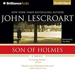 Son of Holmes audiobook cover art