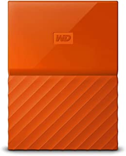 WD HDD ポータブル ハードディスク 2TB USB3.0 オレンジ 暗号化 パスワード保護 3年保証 My Passport WDBS4B0020BOR-WESN