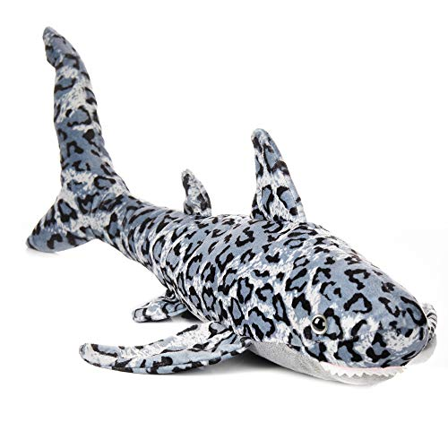 WISHPETS Large 20' Leopard Shark Stuffed Animal Toy