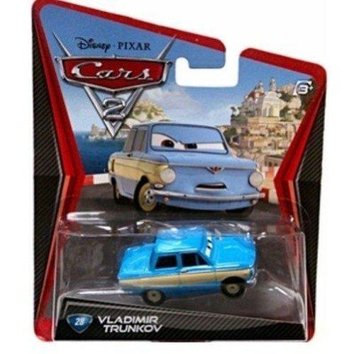 Disney/Pixar Cars 2, Movie Die-Cast Vehicle, Vladmir Trunkov #28, 1:55 Scale