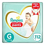 Fralda Pampers Pants Premium Care G 112 unidades, Pampers