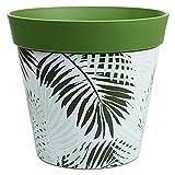 Hum Pots, pot de fougère vert foncé, jardinière d'intérieur/extérieur