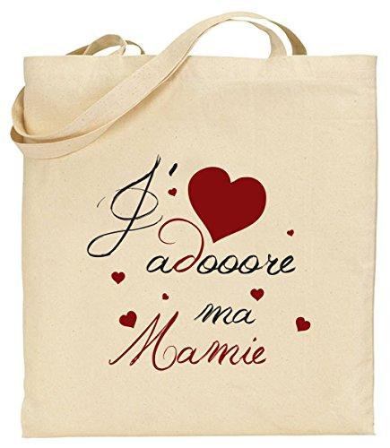 Tote Bag - Sac en Toile - Cadeau pour Mamie - Cadeau pour la...