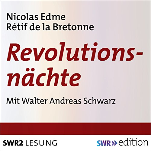 Revolutionsnächte audiobook cover art