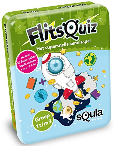 Identity Games 06133 Squla Flash quiz-Group 1/2/3