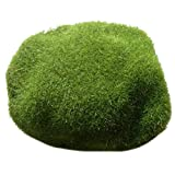 LINMAN 5 UNIDS Artificial Verde Moss Bola Falso Piedra Simulación Planta DIY Decoración para Plantas de Ventana Decoración de Pared Plantas Artificiales (Color : 3)