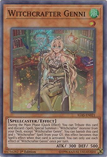 ETCO-EN077 - Super Rare 1st Edition Witchcrafter Patronus