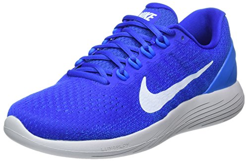 Nike Men's Lunarglide 9 Running Shoe (11 M US, Black/White/Dark Grey/Wolf Grey)