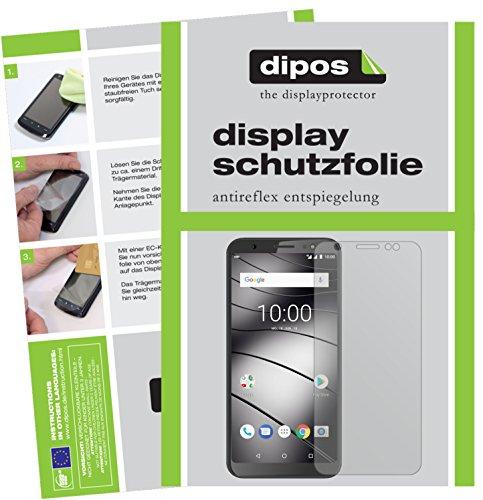dipos I 6X Schutzfolie matt kompatibel mit Gigaset GS185 Folie Bildschirmschutzfolie