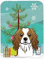 Caroline's Treasures Christmas Tree & Cavalier Spaniel Mouse Pad Hot Pad or Trivet Multicolor (BB1596MP) [Amazon/Cossac Planner]