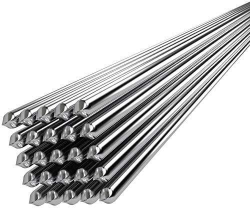 Aluminum Solution Welding Flux-Cored Rods, Welding Rods Super Melt Flux Cored Aluminum, No Need Solder Powder (30PCS)