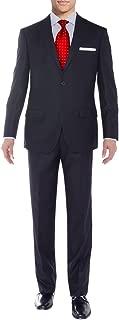 Men's Suit Two Button Side Vent Jacket Flat Front Pants