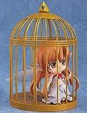 Sword Art Online Asuna Fairy Birdcage, Nendoroid Q Tamaño 10 cm-Modelo de personaje de PVC-Colección de regalo de cumpleaños-Decoraciones para el hogar