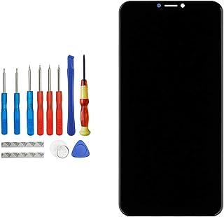 E-YIIVIIL Pantalla LCD de repuesto compatible con Asus Zenfone 5 ZE620KL negro (sin marco), repuesto para reparación de pa...