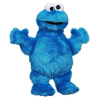 Sesame Street Playskool Let s Cuddle Cookie Monster Plush  Amazon Exclusive
