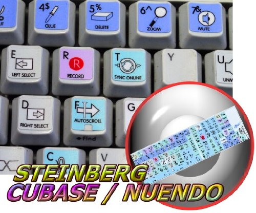 Price comparison product image STEINBERG CUBASE / NUENDO GALAXY SERIES STICKERS 12X12 SIZE