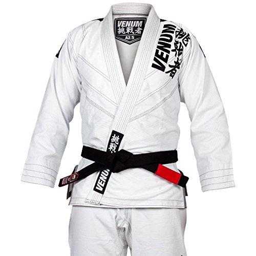 Venum Challenger 4.0 BJJ Kimono, Hombre, Blanco, A2.5