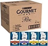 Purina Gourmet Perle húmedo Cat Food, Mini Filetes en salsa
