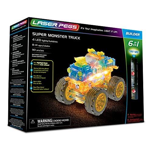 Camion Super Monster 6 en 1 91 pzas
