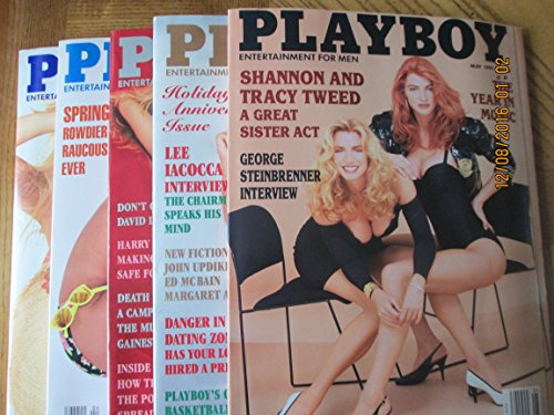 Playboy Magazine 1991 January February April May June