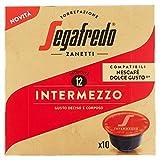Segafredo Zanetti 10 Capsule Compatibili Dolce Gusto, Linea Le Classiche Intermezzo, Gusto Deciso e Corposo - 1 Astuccio da 10 Capsule