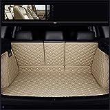 QQDS Funda De Maletero De Coche Protector Maletero para BMW X1 X2 X3 X4 X5 X6 X7 M3 M4 M5 I8 Z3 Z4 Cuero Maleteros Impermeable Alfombrillas Forro Interior Accesorios