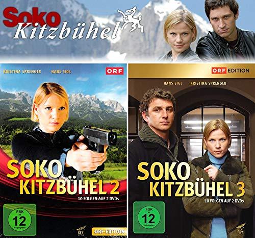 SOKO Kitzbühel - Box 2+3 (4 DVDs)