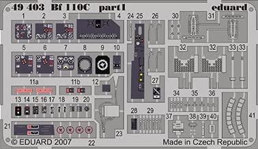 Eduard 1:48 Bf-110 C Color PE Detail Set Kit #49403