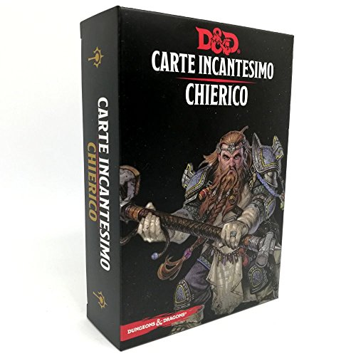 Dungeons and Dragons Carte Incantesimo D&D - Chierico 5ED - Italiano