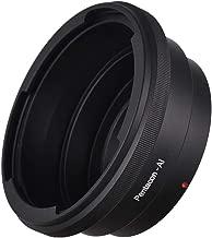 Lepeuxi Lens Mount Adapter for Pentacon 6 Kiev 60 Lens to Fit for Nikon AI F Mount Camera Body for Nikon D90 D300 D700 D3200 D5100 D7100 D7000