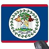 DIYthinker Belice Bandera Nacional Norteamérica País Símbolo De La Marca del Patrón del Rectángulo De Goma Antideslizante Mousepad del Juego Alfombrilla De Ratón