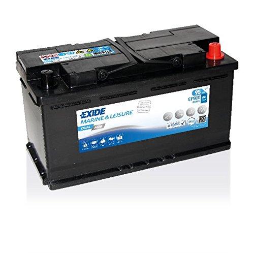 Exide EP800 DUAL AGM - Batteria per il tempo libero, 95 Ah